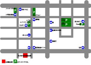 苫小牧テストセンター駐車場地図